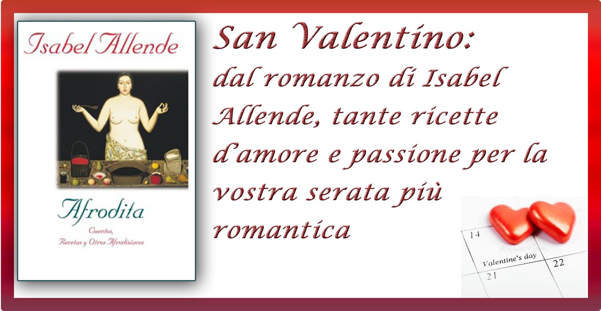 San Valentino. Isabel Allende