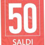 SALDI FINO AL 50% SU ABBIGLIAMENTO E SCARPINE DELLA COLLEZIONE AUTUNNO E INVERNO